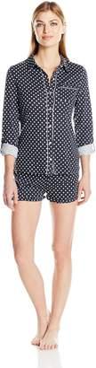 PJ Salvage Women's City of Love 2pc Short Pajama Set
