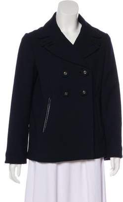 Anya Hindmarch Wool Double-Breasted Coat