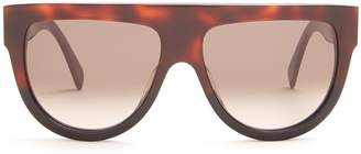 Celine Shadow D-frame acetate sunglasses