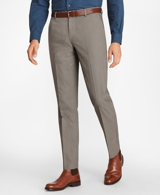 Brooks Brothers Milano Fit Mini-Check Stretch Advantage Chinos