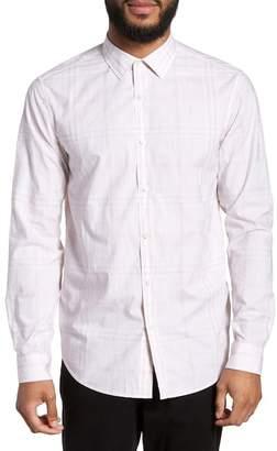 Theory Murrary Dada Slim Fit Plaid Sport Shirt