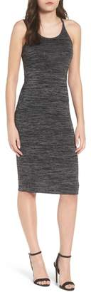 Leith Melange Body-Con Dress