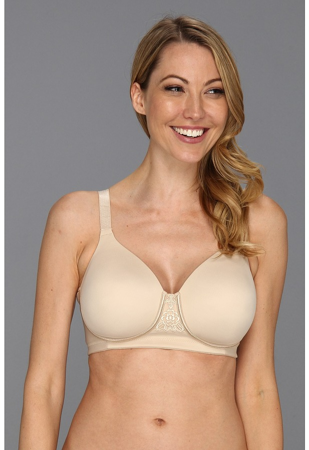 Vanity Fair Back Smoother Full Figure Wirefree Contour Bra
