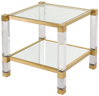 One Kings Lane Stacy Side Table - Gold