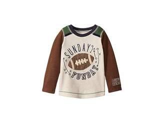 Mud Pie Football Long Sleeve Raglan T-Shirt (Infant/Toddler)