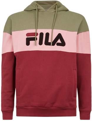 Fila Colour Block Logo Hoodie