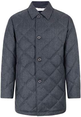 MACKINTOSH Grey Quilted Wool Jacket GD-015