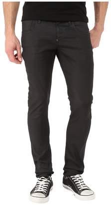 G Star G-Star Revend Super Slim in Black Pintt Stretch Denim 3D Dark Aged Men's Jeans