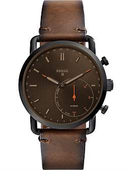 Fossil Q Commuter Brown Hybrid Smartwatch