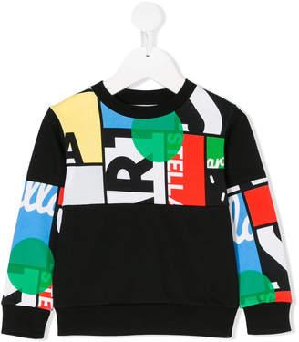Stella McCartney Biz Cycling print sweatshirt