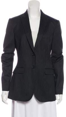 Dolce & Gabbana Wool Pinstriped Blazer