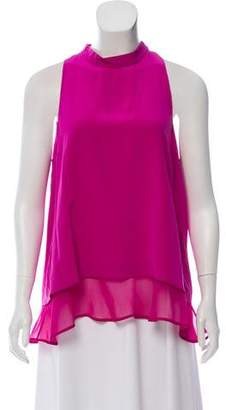 Elizabeth and James Silk Sleeveless Top