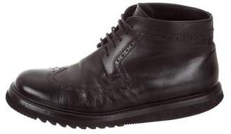 Christian Dior Wingtip Ankle Boots