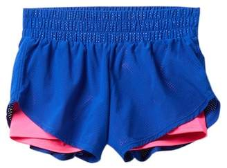 Zella Z by Double Layer Perforated Shorts (Little Girls & Big Girls)