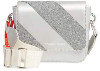 Tommy Jeans Hype Girl Reflective Flap Crossbody Bag