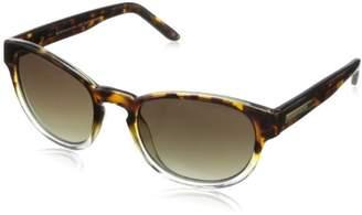 BCBGMAXAZRIA Women's B859 Round Sunglasses