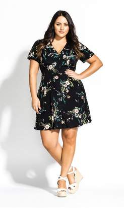 City Chic Citychic Summer Spring Dress - black