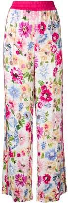 Escada floral-print trousers
