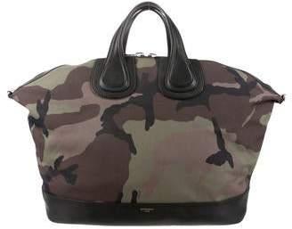 Givenchy Large Camouflage Nightingale Bag