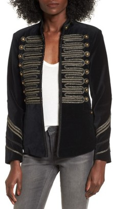 Women's Blanknyc Velvet Band Jacket $189 thestylecure.com
