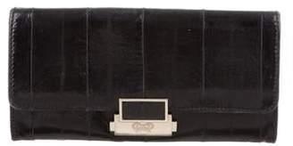 Anya Hindmarch Eel Skin Continental Wallet