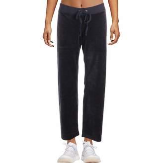 Juicy Couture Black Label Womens Mar Vista Velour Track Pants Navy M