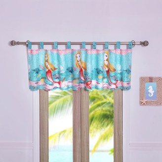 Greenland Home Fashions Mermaid Window Valance