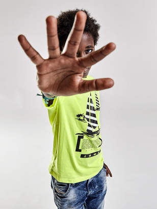 Diesel KIDS T-shirts and Tops KYANP - Yellow - 10Y