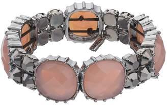 Vera Wang Simply Vera Simulated Gemstone Stretch Bracelet