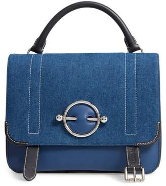 J.W.Anderson Disc Leather Crossbody Bag