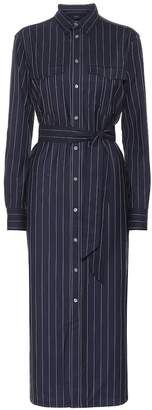 Polo Ralph Lauren Pinstripe wool shirt dress