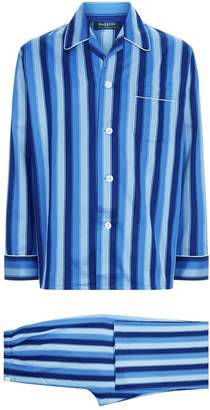 Harrods Stripe Print Pyjama Set