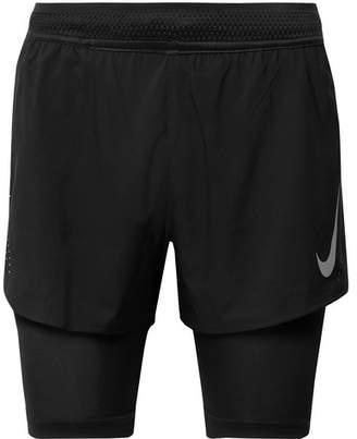 Nike Running Aeroswift 2-In-1 Shorts