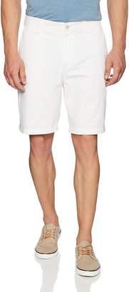 Nautica Men's Big and Tall Cotton Twill Flat Front Chino Deck Short-C92110