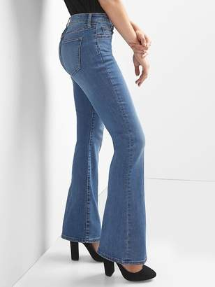Gap Mid Rise Perfect Boot Curvy Jeans
