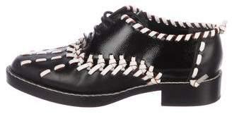Louis Vuitton Leather Woven Oxfords