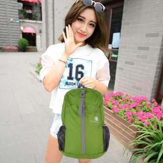 Feel Sports Backpack Waterproof Hiking Bag Foldable Nylon Daypack Durable 30L Rucksack Universal Outdoor Accessories