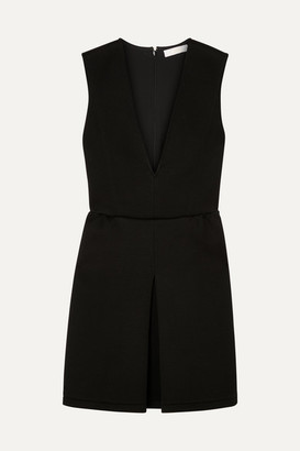 Chloé Stretch-jersey Mini Dress - Black