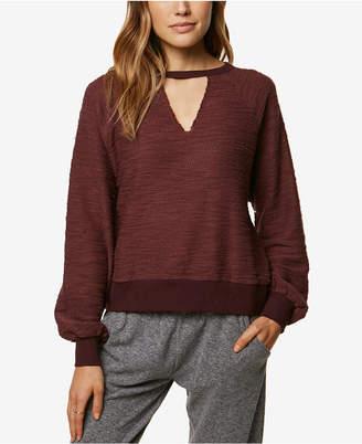 O'Neill Juniors' Cutout Sweater