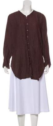 Cp Shades Linen Button-Up Top