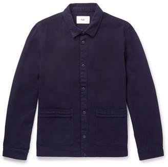 Folk Horizon Cotton-Twill Jacket