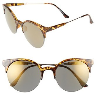 A.J. Morgan 56mm 'Pip' Cat Eye Sunglasses $24 thestylecure.com