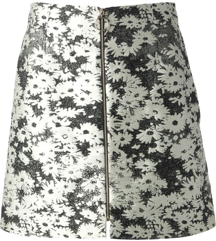 Stella McCartney A-line floral skirt