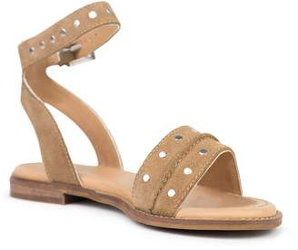 Crevo Mira Stud Accent Ankle Strap Sandal