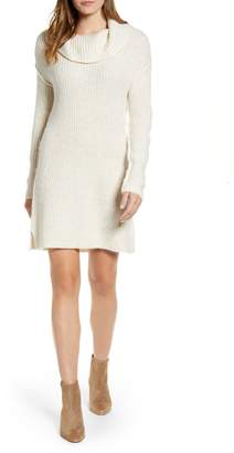 Caslon Calson® Cozy Links Long Sleeve Sweater Dress