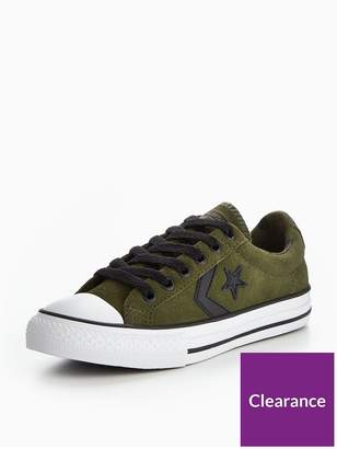 75d1629f8cd Converse Star Player EV Camo Suede - TD Ox Childrens Trainer