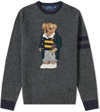 Polo Ralph Lauren Geeky Bear Intarsia Knit