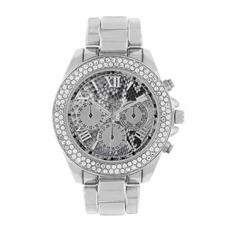 ROCAWEAR Rocawear Womens Silver Tone Bracelet Watch-Rl11713s1-004 $45 thestylecure.com