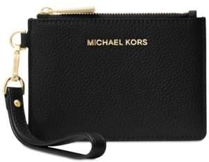 Michael Kors Michael Mercer Pebble Leather Coin Purse