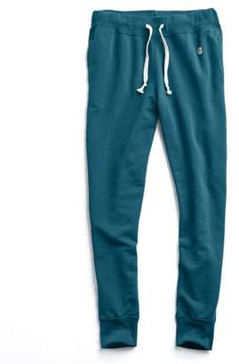 Todd Snyder + Champion Slim Jogger Sweatpant in Petrol Blue